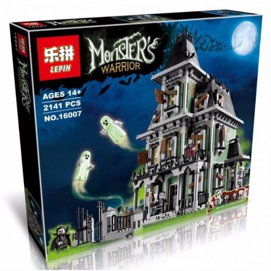 Конструктор Lepin 16007 Дом с привидениями / Аналог Lego 10228