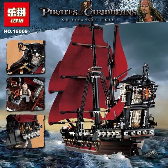Конструктор 83009 KING Месть королевы Анны (бывший Lepin 16009), аналог Lego 4195 QUEEN ANNE'S REVENGE
