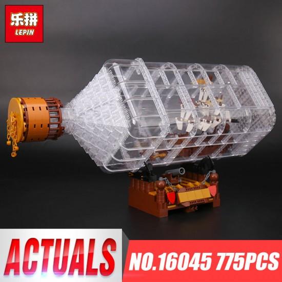 Конструктор Lepin 16045 Корабль в бутылке - аналог Lego The Ship in the Bottle CREATOR