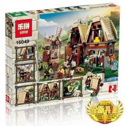 Конструктор Lepin 16049 Нападение на деревенскую мельницу, аналог Lego 7189 Mill Village Raid