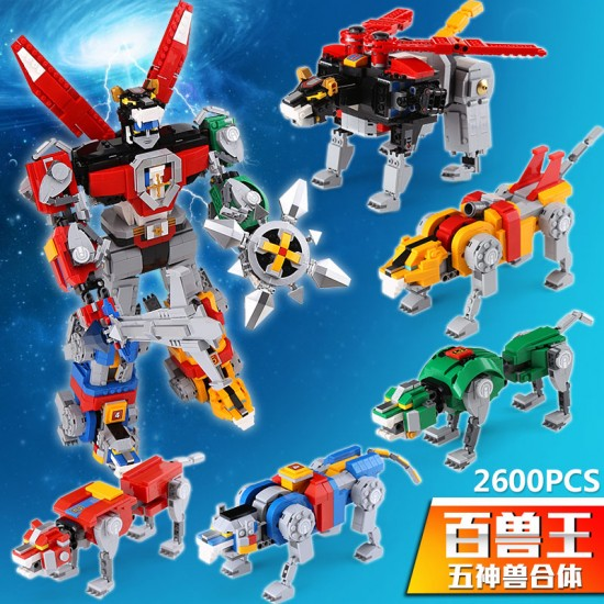 Конструктор Lepin 16057 Вольтрон  Ideas Voltron
