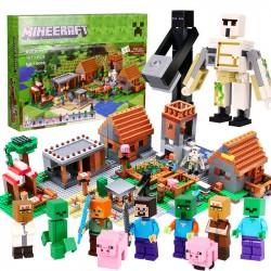 Конструктор Lepin 18008 Большая Деревня / аналог Lego 21128 Minecraft
