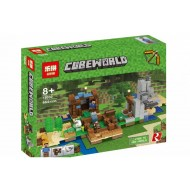 Конструктор Lepin 18030 Набор для творчества Cubeworld, копия Lego 21135 Minecraft