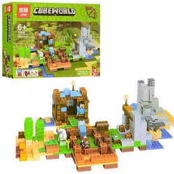 Конструктор Lepin 18030 Набор для творчества Cubeworld, копия Lego 21135 Minecraft