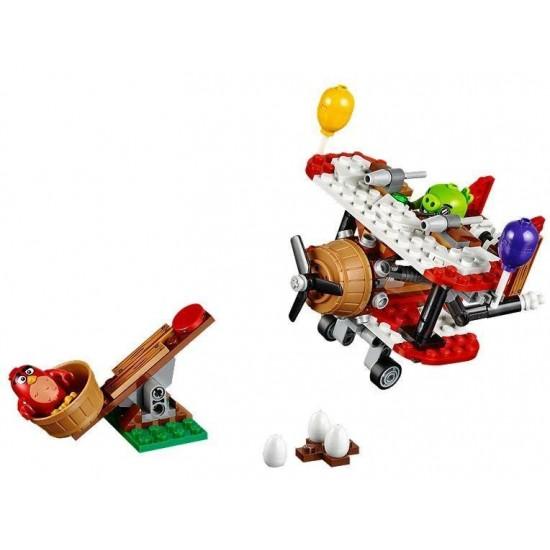 Конструктор Lepin 19002 Самолётная атака свинок, аналог Lego 75822