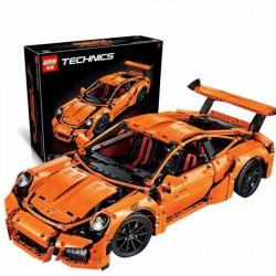 Конструктор Lepin 20001 Porsche 911 GT3 RS (Оранжевый), аналог Lego 42056 Technics