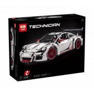Конструктор Lepin 20001B Technic Porsche 911 GT3 RS (Белый),  копия Lego 42056 Technic