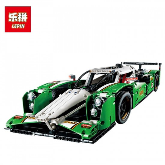 Конструктор Lepin 20003B гоночный автомобиль (c двигателем), аналог Lego Technics