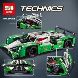 Конструктор Lepin 20003 гоночный автомобиль (без мотора), (копия Lego Technics)