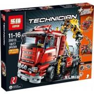 Конструктор Lepin 20013 Technics  Грузовой кран 2 в 1 с мотором, аналог Lego 8258 Technic