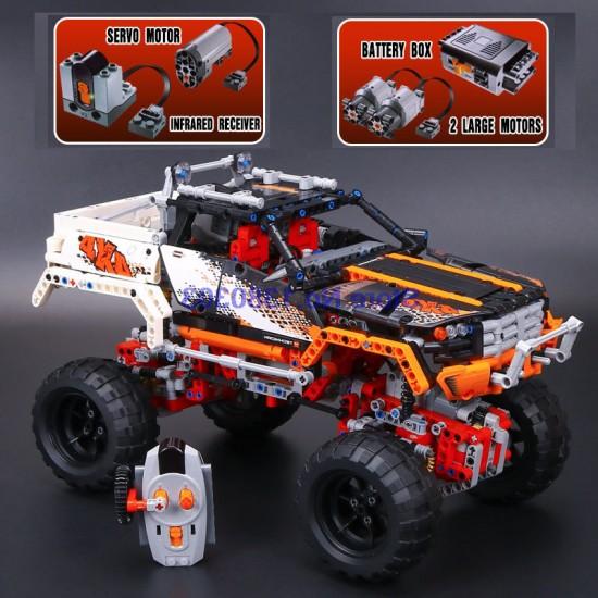 Конструктор Lepin 20014 ВНЕДОРОЖНИК 4X4 CRAWLER, копия Lego 9398 Technic