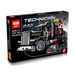Конструктор Lepin 20020 Technican  Буксировщик-тягач, копия Lego 8285 Technic