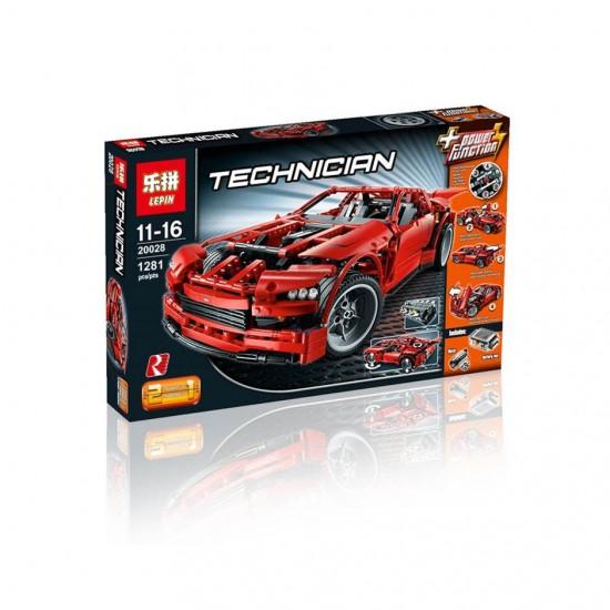 Конструктор Lepin 20028 аналог LEGO 8070 Super Car TECHNICS