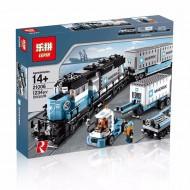 Конструктор Lepin 21006 Грузовой Поезд Маерск | аналог Lego City 10219