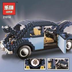 Конструктор Lepin 21014 автомобиль Volkswagen Beetle