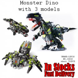 Конструктор Lepin 24010 Гигантский динозавр, аналог Lego 4958 Monster Dino