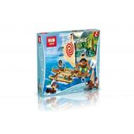 Конструктор Lepin 25003, аналог Lego 41150, Disney Путешествие Моаны через океан