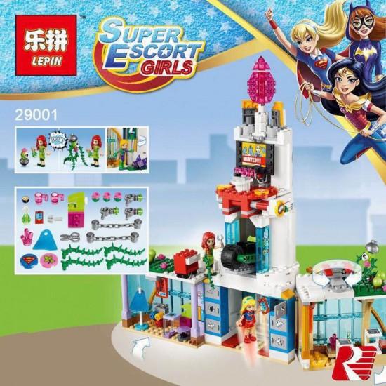 Конструктор Lepin 29001 Super Heroes Школа супергероев