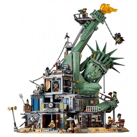 Конструктор Lepin 45014 Добро пожаловать в Апокалипсебург, Аналог Lego 70840