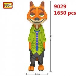 Конструктор LOZ 9029  Большой Лис Creator