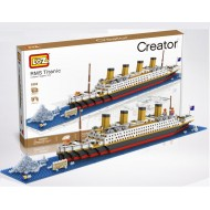 Конструктор LOZ 9389 Титаник Creator