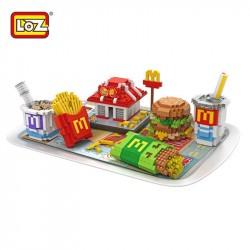 Конструктор LOZ 9391 McDonald's  еда
