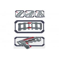 Конструктор Kazi GBL Train Track KY98215-1 Железнодорожные стрелки