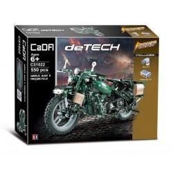 Конструктор электромеханический Double E Cada Technics мотоцикл 550 деталей - C51022W