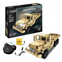 Конструктор радиоуправляемый Double E Cada Technics военный грузовик 545 деталей - C51042W