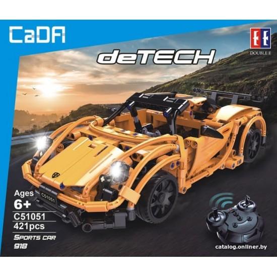 CaDa Technic C51051W Конструктор радиоуправляемый PORSCHE 918 DeTech