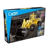 Конструктор погрузчик c инерционным механизмом Double E Cada Technics (213 деталей) - C52014W