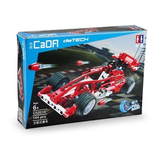 Конструктор CaDa Техник C52016W Гоночный автомобиль F1 инерционный