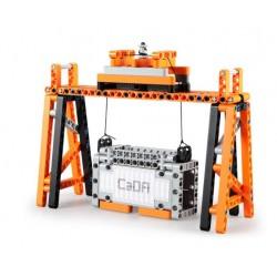 Конструктор электромеханический CaDa C71002W 10в1 Портовая погрузка с сенсорным управлением