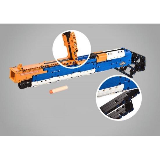 Конструктор Double E Cada Technic C81004W дробовик M1887, 506 деталей, стреляет пульками