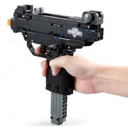 Конструктор CaDa C81008W deTech Пистолет-пулемет Micro Узи