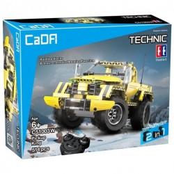 Электромеханический конструктор Double Eagle CaDA Technic C51003W Королевский пикап