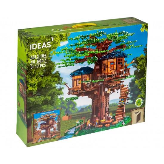 Конструктор Ideas 6007 Дом на дереве / 21318