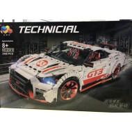 Конструктор Lepin 23010 конструктор NISSAN GT-R (без мотора)   аналог Lego Technic MOC 25326