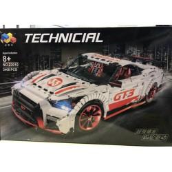Конструктор Lepin 23010 конструктор NISSAN GT-R (без мотора) | аналог Lego Technic MOC 25326