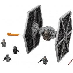 Конструктор 81007 KING Star Wnrs Истребитель TIE особых войск Первого Ордена (бывший Lepin 05005), копия LEGO 75101 Star Wars