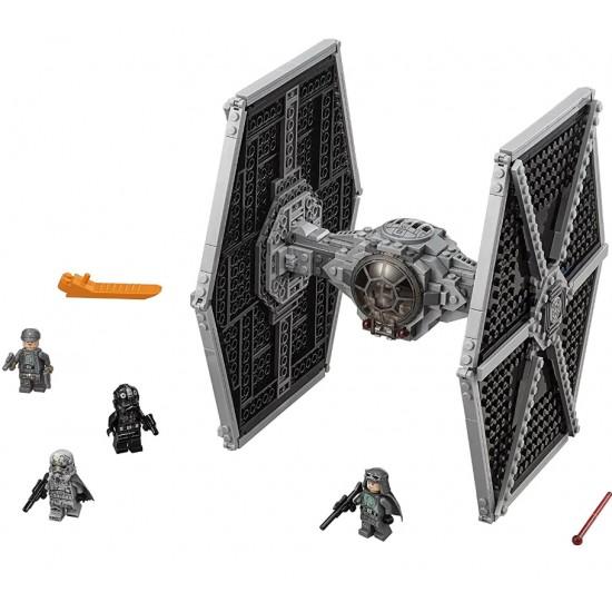 Конструктор 81007 KING Star Wnrs Истребитель TIE особых войск Первого Ордена (05005, 75101 Star Wars)