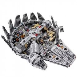 Конструктор King 81009 Сокол Тысячелетия, бывший Lepin 05007, аналог Lego 75105 Star Wars