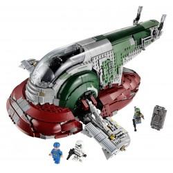 Конструктор 81039 King Slave I — Звездолет Бобы Фетта (ранее - Lepin 05037), копия Lego 75060 Star Wars