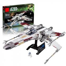 Конструктор King 81041 Star Plan Истребитель X-WING RED FIVE (бывший Lepin 05039), Аналог Lego 10240
