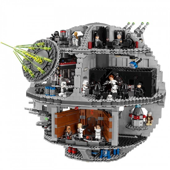 Лего звезда смерти большая