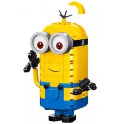 Конструктор King 81779 Фигурки миньонов и их дом / Аналог Lego 75551