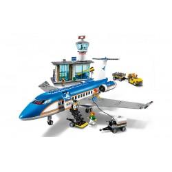 Конструктор 82031 KING&QUEEN Пассажирский терминал аэропорта (бывший Lepin 02043), аналог Lego City 60104