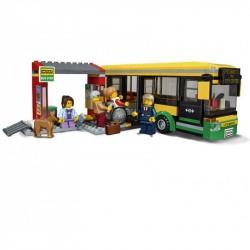 Конструктор 180035 Lion King Автобусная остановка (ранее - Lepin 02078), копия Lego 60154 City
