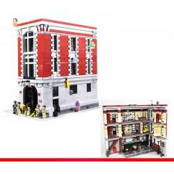 Конструктор 83001 KING&QUEEN Штаб-квартира охотников за привидениями (бывший Lepin 16001), аналог Lego Creator 75827