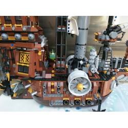 Конструктор Lion King 180041 Пираты Корабль Стальной Бороды (бывший Lepin 16002) / аналог Lego 70810